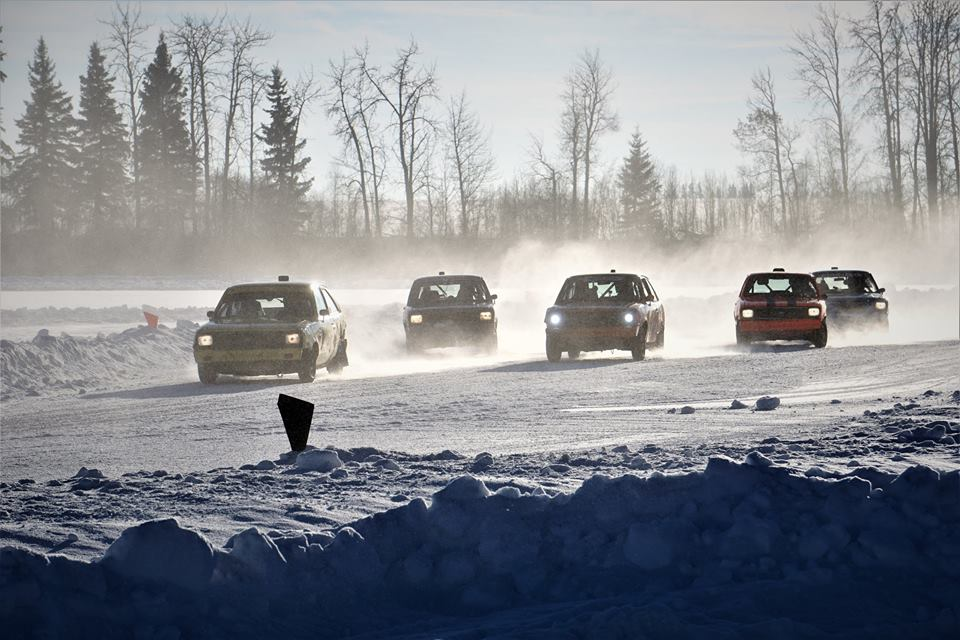 Ice Racing this weekend, Roy's Lake - January 27th and 28th
